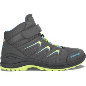 Lowa Maddox GTX Mid-Cut Schuhe Kinder graphite/lime